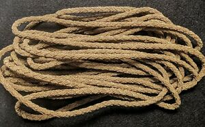 1 4 Metallic Antique Gold Heavy Braided Cord Trim High Quality 2 Yards Usa