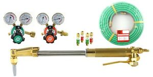 S a 18 Heavy Duty Cutting Torch Set With Regulators And 25 Hose Propane