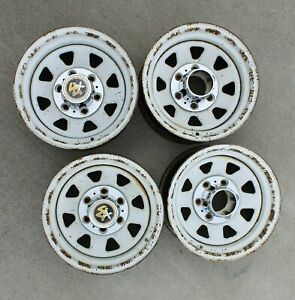 Chevrolet Gmc Factory White Spoke Wheels K10