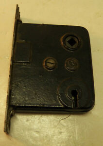 Antique Iron Mortise Door Lock By Earle
