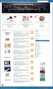 Business Directory Website And Domain For Sale Responsive Mobile Friendly Site