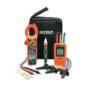 Extech Ma640 k Phase Rotation clamp Meter Test Kit