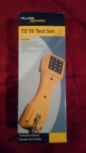 Fluke Ts19 Butt Test Set With Angled Bed Of Nails New In Box Sealed