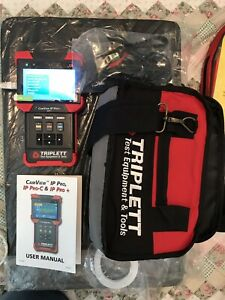 Triplett Camview Ip Pro 8071 Camera Tester With Dhcp Server
