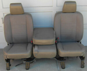 Dodge Ram Grey Cloth Seats 2002 2003 2004 2005 2006 2007 2008