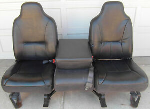 1998 2001 Dodge Ram Regular Cab Oem Black Vinyl Truck Seats 1998 1999 2000 2001
