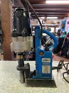 Hougen Hmd 914 115v Ac 50 60 Hz 350 Rpm Magnetic Drill Press Very Rare Hmd914