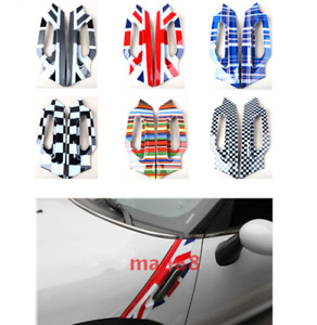 Car Fender Side Scuttles Trim Decor Abs Cover For Mini Cooper Countryman R60