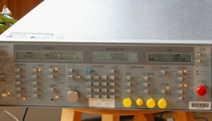 Wiltron Anritsu 6737b 20 20 Ghz Swept Frequency Synthesizer 560 7s50 Detector