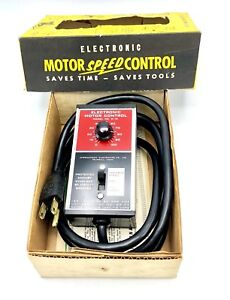 Motor Speed Controller m10 Saves Time Saves Tools International Electronics Co