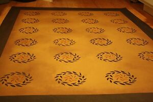 Beautiful Primitive 2 X3 Floorcloth Area Rug Can T Beat The Price