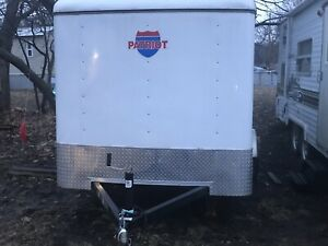 6x12 2015 Enclosed Trailer