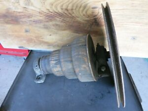 Vintage Heavy Metal Lathe Old Cast Iron Machine Age Parts Made In Usa