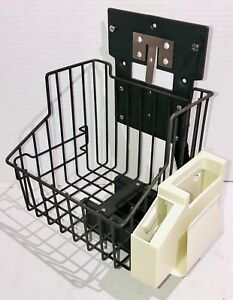 Basket Pole Mount For Welch Allyn Protocol 52000 Vital Signs Patient Monitor