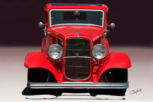 1932 Ford Grille Insert Original Style