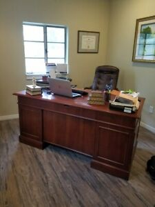 Executive Desk 66 Inches Long 32 Wide And 30 High
