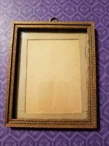 Vintage Small Hand Carved Wooden Frame 5 X 6