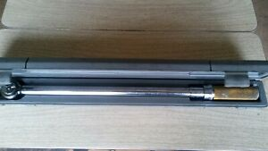 Cornwell Tools 1 2 Dr Torque Wrench Ce C97453 Usa 25 250ft Lbs