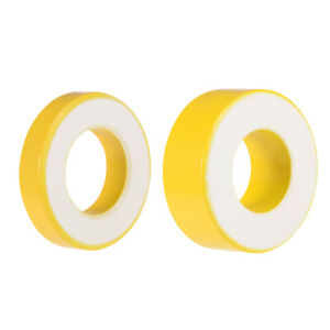 21mm 35 4mm Inner Diameter Ferrite Ring Iron Powder Toroid Cores Yellow White