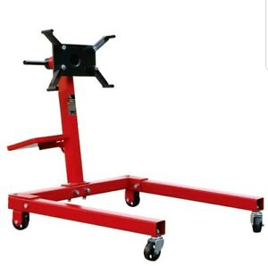Engine Stand Motor Dolly 1 250 Lb Automotive Wheels Shop Steel Equipment New