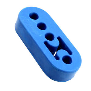 Exhaust Hanger Blue Bushing Muffler Insulator Rubber 0 47 Hole Universal