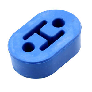 Exhaust Hanger Blue Bushing Muffler Insulator Rubber 0 43 Hole Universal