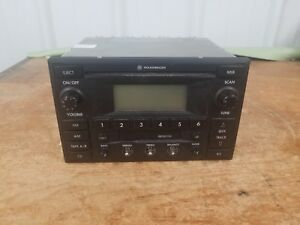 2001 2002 2003 Volkswagen Jetta Passat Golf Vw Radio Cd Player 3b7 035 180 Oem