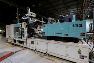 2005 Niigata 500 Ton All Electric Plastic Injection Molding Machines