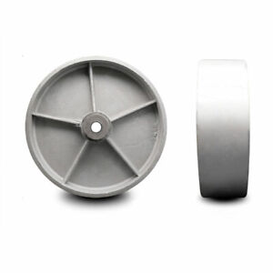 Scc 12 Semi Steel Cast Iron Wheel Only W roller Bearing 3 4 Bore 2500 Lb Cpty