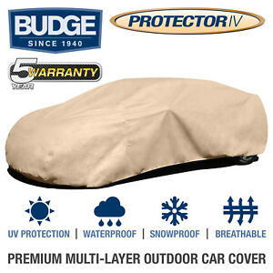 Budge Protector Iv Car Cover Fits Mazda Protege 2002 Waterproof Breathable