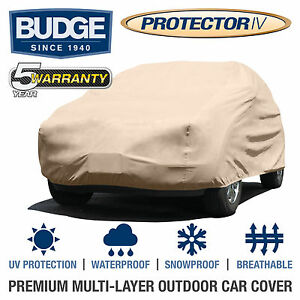 Budge Protector Iv Suv Cover Fits Toyota Land Cruiser 1978 waterproof breathable