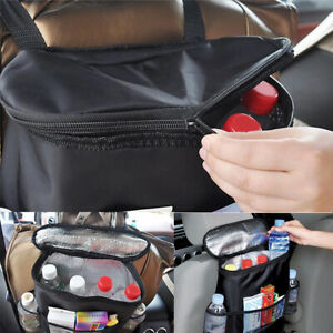 Car Auto Accessories Insulation Car Seat Storage Bag Organizer Multi Functional