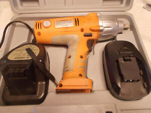 Chicago Pneumatic 1 2 Cordless Impact Wrench 19 2 V W battery And Charger