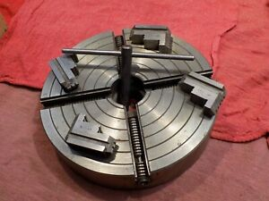 Craftsman 8 4 Jaw Independent Lathe Chuck Nos Atlas Enco Smithy Lathes