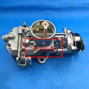 New Carburetor Carb Fit Autolite 1100 1965 1969 Ford 170 200 Engines Auto Trans