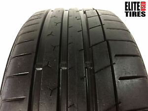 1 Continental Extremecontact Sport P225 40zr18 225 40 18 Tire 8 5 9 25 32