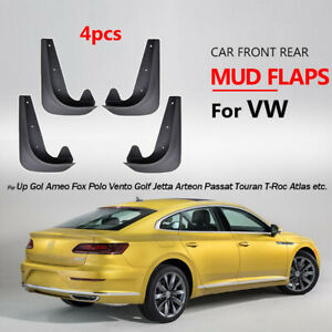 Front Rear Universal Mud Flaps Mudflaps For Volkswagen Vw Mudguard Splash Guards