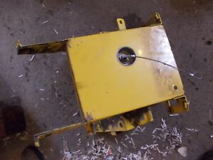International 154 Cub Tractor Dash Bottom Cover Panel W Ignition Switch