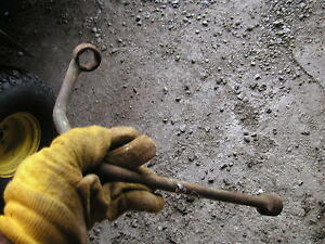 John Deere Tractor Original Vintage Jd Flywheel Wrench Hard To Find Rare
