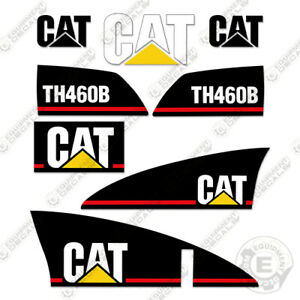 Caterpillar Th460b Decals Reproduction Telescopic Forklift Equipment Decals