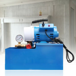 2 5mpa Electric Pressure Test Pump Hydraulic Piston Testing Pump Usa Stock