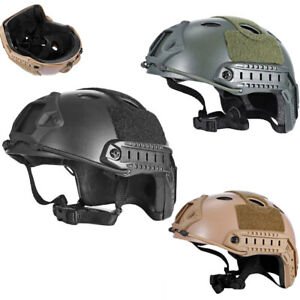 Military Airsoft Paintball Tactical Accessories Base Jump Fast Protective Helmet