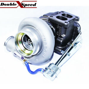 Hx40w 3538215 Turbo For Dodge Ram 4 Exhaust Downpipe Flange T4 Twinscroll