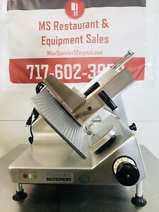 Bizerba Se12 Gravity Feed Meat Cheese Deli Slicer Clean Quiet New Blade