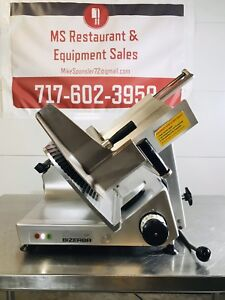 Bizerba 2012 Gsp h Manual Meat Cheese Deli Slicer W Sharpener Great Condition