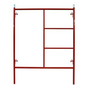 5 X 6 7 Steel Tube 1 5 8 Scaffolding Quality Red Frame Scaffold Heavy Duty