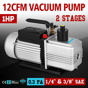12cfm Vacuum Pump Double Stage Medical Apliances 340 L min Ultimate Vacuum