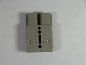 Anderson Power Sb 175a 600v Connector Cover 2 Pole Gray Used