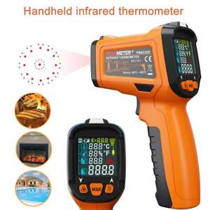 Peakmeter Pm6530d Non contact Ir Digital Thermometer Temperature Tester 50c 800