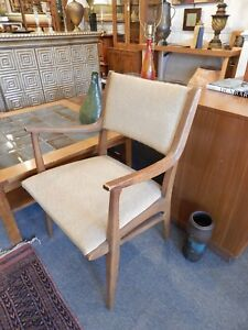Drexel Profile Dining Arm Chair By John Van Koert Mid Century Modern